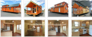 400 Sq FT with Loft Manufactured Homes, Mobile Homes, Mobile Homes for Sale on Site (TH-079) pictures & photos