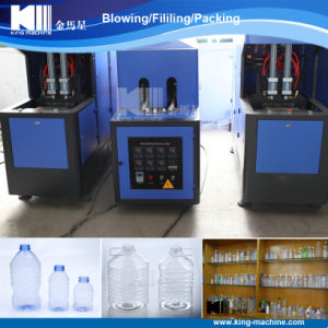 Semi Automatic Pet Blowing Machine to Make Plastic Bottles pictures & photos