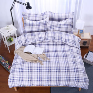 Home Cotton Bedding Set / Flat Sheet / Duvet Cover / Pillowcase pictures & photos