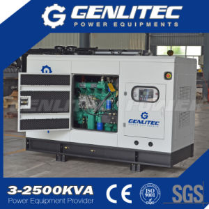 60Hz Silent 40kw 50 kVA Diesel Generator with Chinese Ricardo Engine pictures & photos