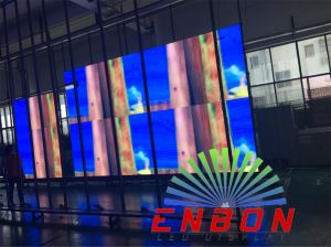 High Quality P4 Indoor Advertising LED Display with Die-Casting Aluminum 512X512mm LED Panel pictures & photos