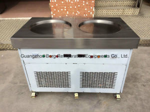 Two Gmcc Compressor Commercial Thailand Fry Roll Ice Cream Machine pictures & photos