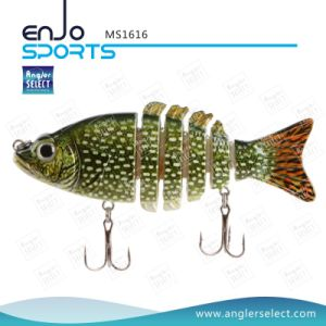 Multi Jointed Life-Like Plastic Fishing Lure Bass Bait Swimbait Shallow Artificial Fishing Tackle (MS1616) pictures & photos