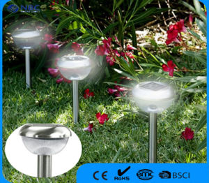 Flower Hud Style Solar Stainless Steel Stake Light in Bronze Finish pictures & photos