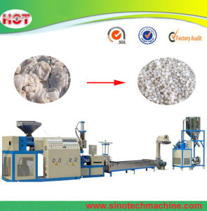 Plastic HDPE LDPE Granule Recycling Extrusion Making Machine pictures & photos