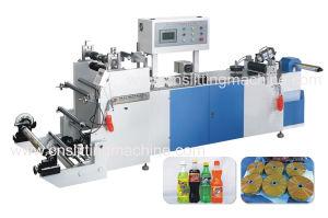 Zhz-300 Shrink PVC Label Glue Sealing Machine pictures & photos