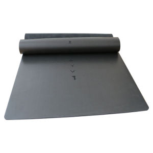 Natural Tree Rubber Yoga Mat with PU Surface for Meditation and Pilates pictures & photos