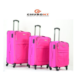 Chubont 2016 New 3PCS 4 Wheels Luggage Bag pictures & photos