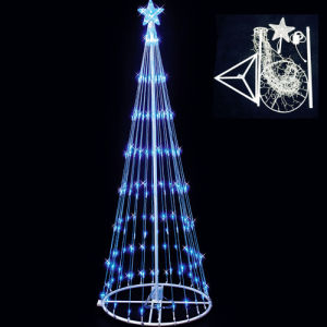 Outdoor LED Easy Packing Christmas Flag Tree Light pictures & photos