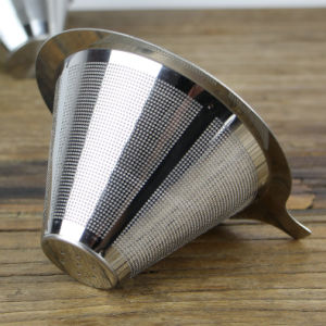 Stainless Steel Coffee Filter Wire Mesh Pour Over/Pour Over Coffee Dripper pictures & photos