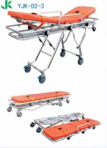 Multifuntion Automatic Loading Strecher Adjustable Back Ambulance Strechers pictures & photos
