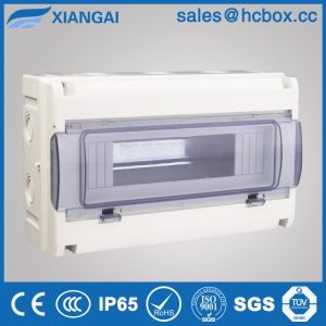 Distribution Board Plastic Box Connection Box Switch Box Waterproof Box Hc-Wd 18ways pictures & photos