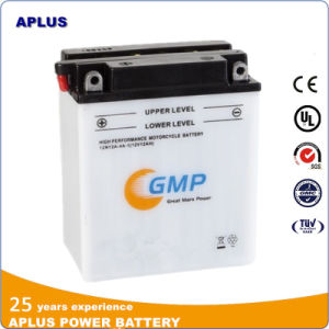 Pure Lead Making Conventional Motorcycle Battery 12V 12ah 12n12A-4A-1 pictures & photos