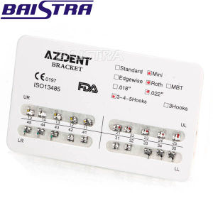 Famous Brand Azdent Dental Manufacturer Bracket Used to Adjust Teeth pictures & photos