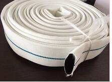 "1.5"" Canvas Pipe PVC Single Jacket Fire Hose pictures & photos"
