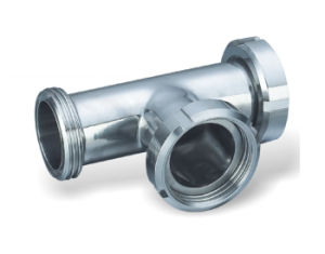 304/316L Sanitary Stainless Steel Clamp Tee pictures & photos
