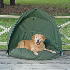 150d Oxford Green Color Pet Tent for Outdoor (MW8005) pictures & photos