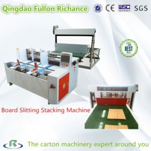 Paper Board Slitting Stacking Machine for Partition Assembing Machine pictures & photos