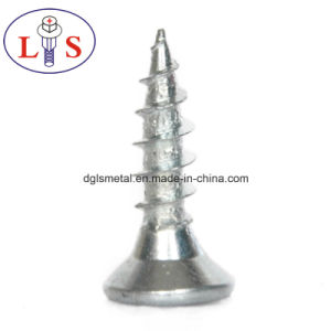 Carbon Steel Csk Head Screws with Zinc Plated pictures & photos