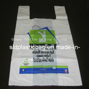 Large Plastic T-Shirt Bag pictures & photos