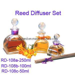 Square Reed Diffuser Glass 50ml. 100ml and 250ml