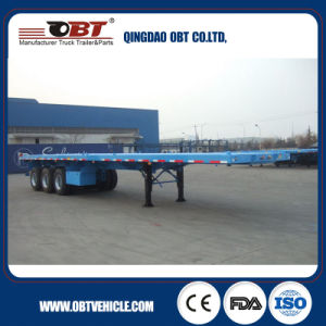 Customized Design Factory Direct Sale 40FT Flatbed Trailer pictures & photos
