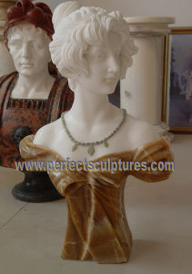 Carving Stone Statue Marble Sculpture Head Bust for Decoration (SY-S313) pictures & photos