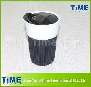 Ceramic Travel Mug with Plastic Lid pictures & photos