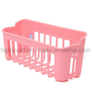Plastic Kitchen Bathroom Drying-Wall Shelf Storage Rack Holder Injection Moulding pictures & photos