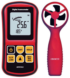 Digital Precision Portable Anemometer Amf002 pictures & photos