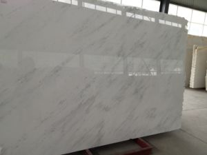 Wholesale Starry Star Chinese White Marble Slab pictures & photos