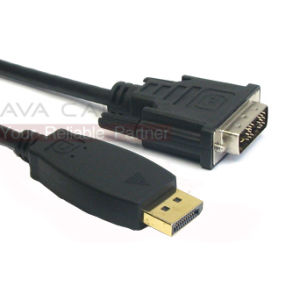 Displayport Male to DVI Male Cable (DP004)