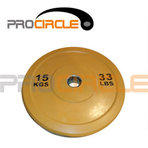 Crossfit Training Colorful Rubber Olympic Plates (PC-BP1012-1022) pictures & photos