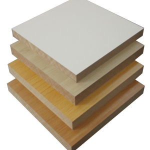 3~25mm Waterproof Laminated MDF Board pictures & photos