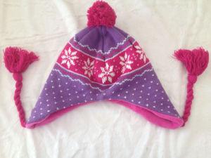 Jacard POM POM Peruvian, Tassel Knit Hat, Knit Headwarmer 15faab141
