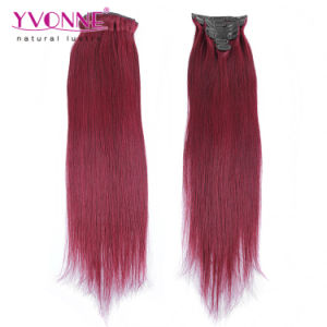 New Arrival 100% Remy Hair Extensions Clips in Hair pictures & photos