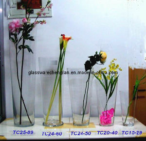 Clear Crystal Glass Vase (V-JH2589) pictures & photos