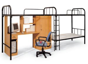 3 -Person Metal Bunk Bed for Dormitary (GT-14) pictures & photos