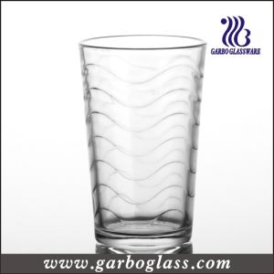 Wave Design 8oz Water Glass Tumbler (GB026808B) pictures & photos