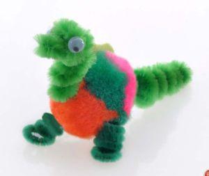 Dinosaur Pompom DIY Toy (LPP-38)