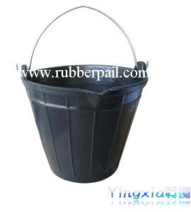 Rubber Pail & Bucket, Rubber Tub (5613)