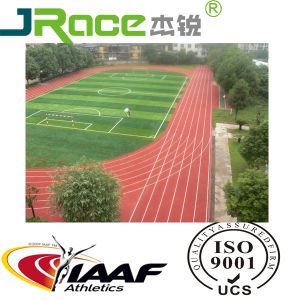 Rubber Running Track Material and Iaaf Athletic Track for Sport Stadium Flooring pictures & photos