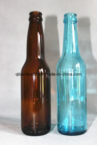 china wholesale 355ml 12oz amber clear blue green glass With bulk 12 oz beer bottles