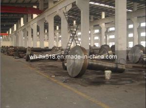 Steel Flangeshaft (1045/4140/4340/1018)