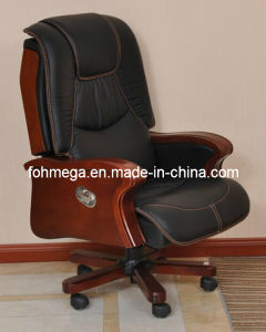 Office Furnitures Leather Swivel Executive Office Chair (FOH-B92) pictures & photos