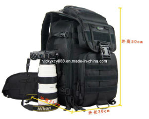 Double Shoulder Quality Camera Backpack Pack Bag (CY5821) pictures & photos