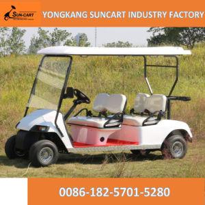 Battery Operated 4 Seats Cheap Golf Cart for Sale, Sun Cart Brand Golf Cart pictures & photos