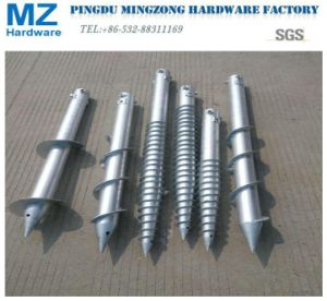 Hot-Dipped Galvanized Ground Screw Pile pictures & photos