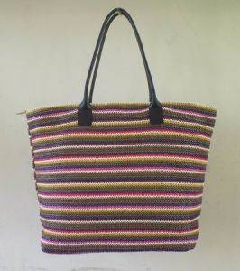 Beach Bag, Made in Polyester/Canvas in Printed Design pictures & photos