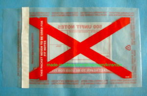 Plastic Bag with Adhesive Tape/ Plastic Packing Bag/Ahesive Packing Polybag pictures & photos